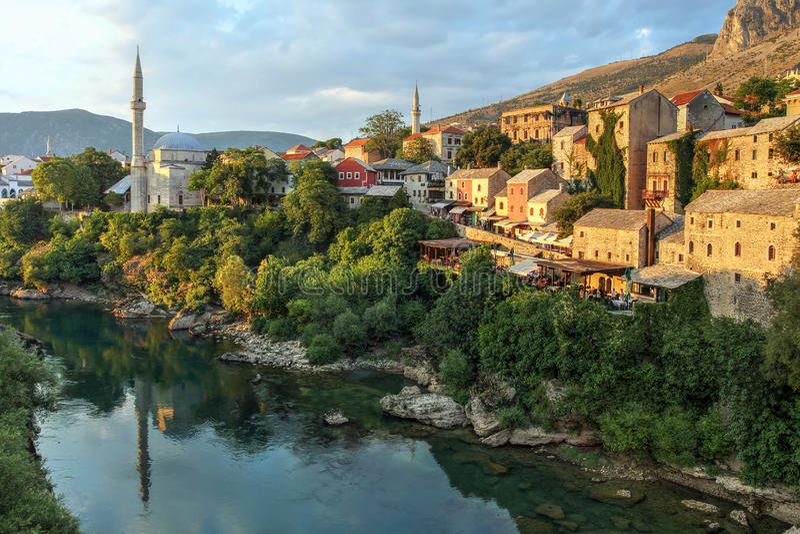 Mostar Bosnien och Hercegovina arkivfoton