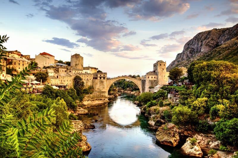 Mostar, Bosnien u. Herzegowina stockfotografie