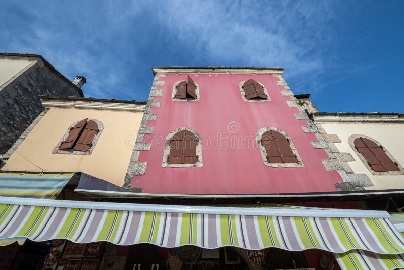 Mostar em Bósnia foto de stock