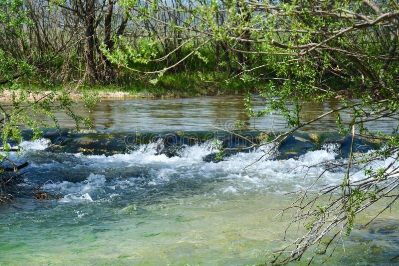 Mostar-Fluss stockfotos