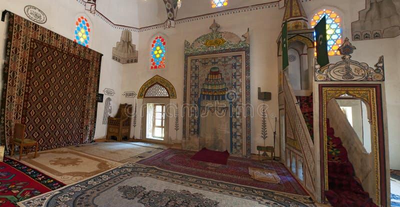 Mostar, Koski Mehmed Pasha Mosque, Innenraum, Bosnien und Herzegowina, Europa, Islam, Religion, Ort der Verehrung stockfoto