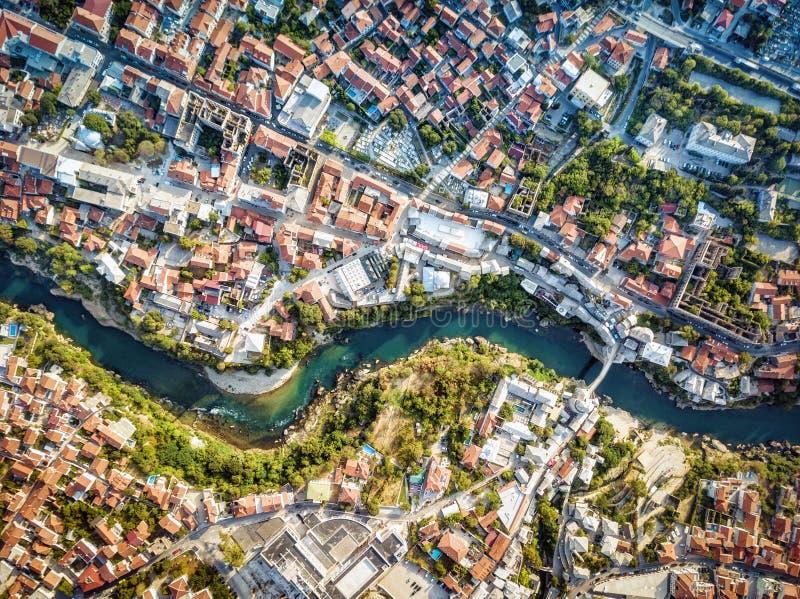 Mostar surrantenn, Bosnien och Hercegovina royaltyfri bild