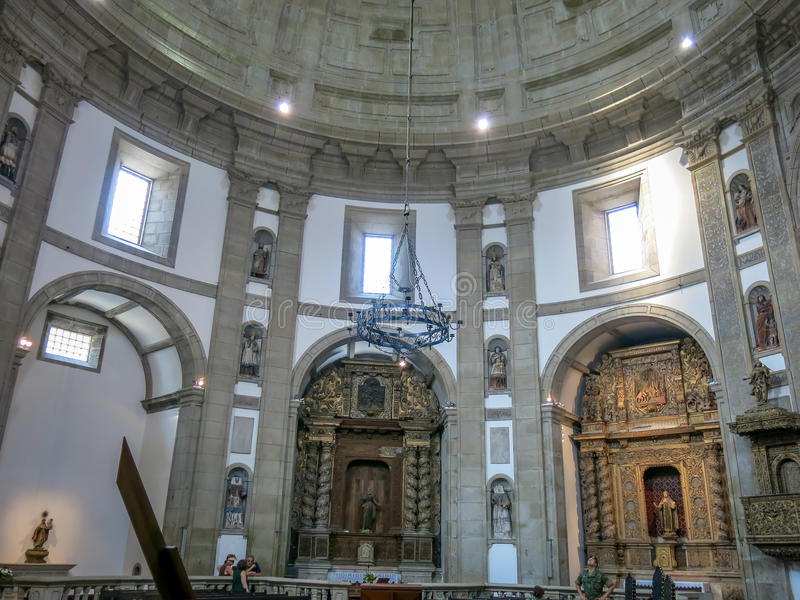 Mosteiro da Serro fa Pilar a Oporto fotografia stock