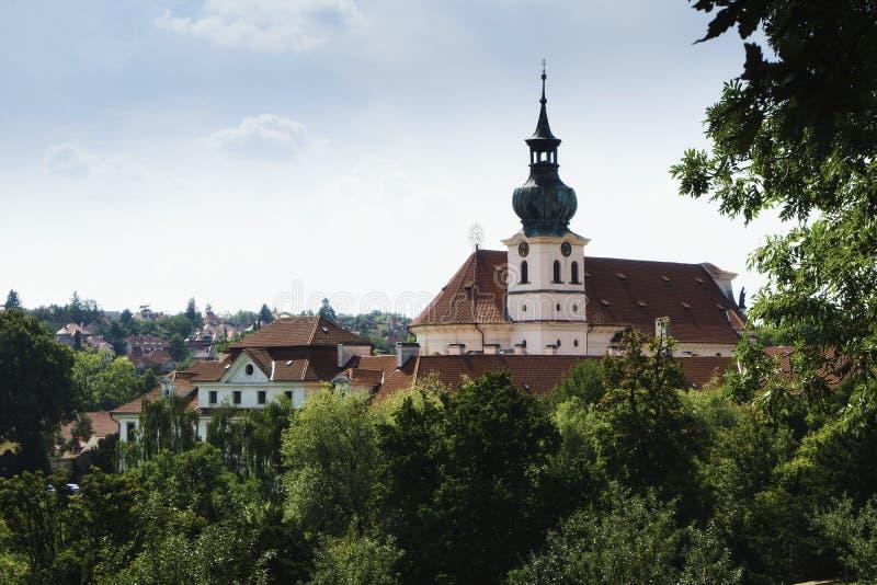 Mosteiro de Brevnov imagem de stock