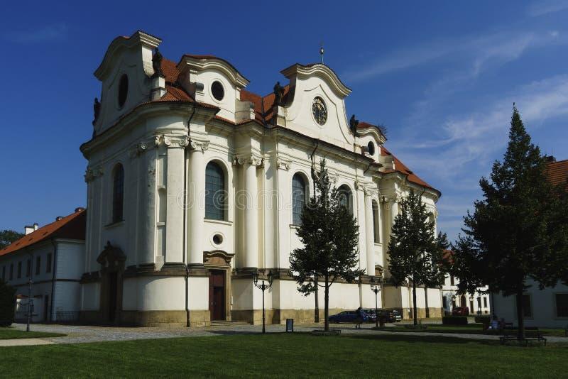 Mosteiro de Brevnov fotos de stock royalty free