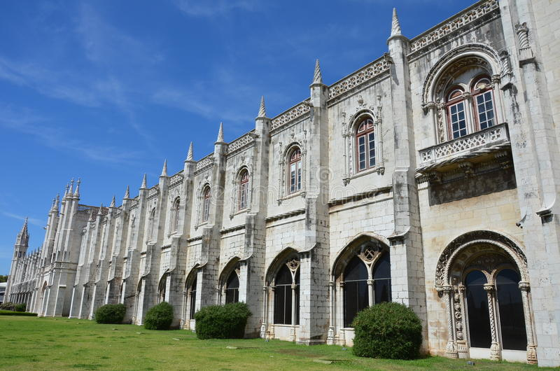 Download Mosteiro dos Jeronimos stock image. Image of facade, jeronimos - 26791229