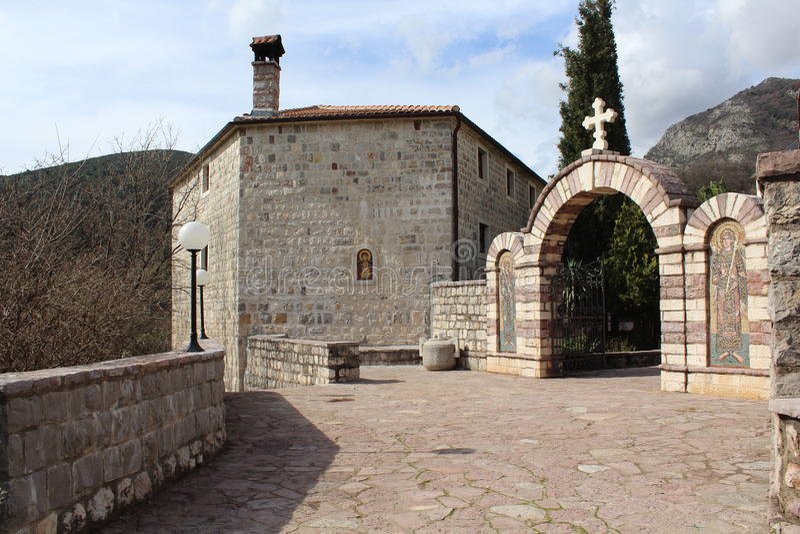 Mosteiro de Podmaine imagem de stock