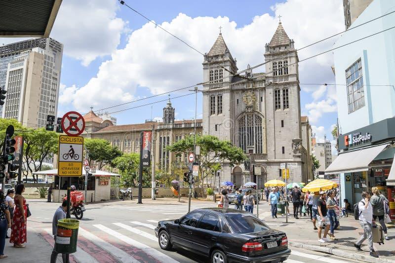 Mosteiro de Sao Bento, Sao Paulo arkivfoton