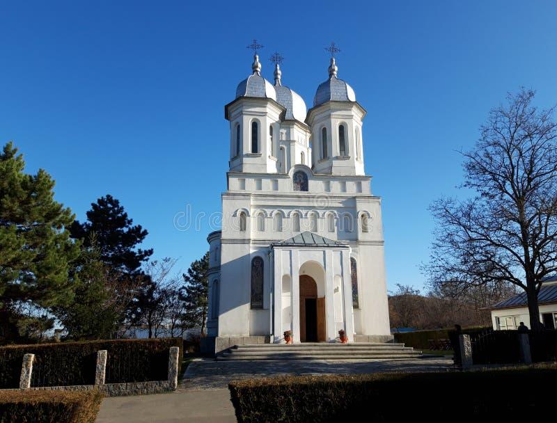 Mosteiro de Saon em Tulcea fotos de stock