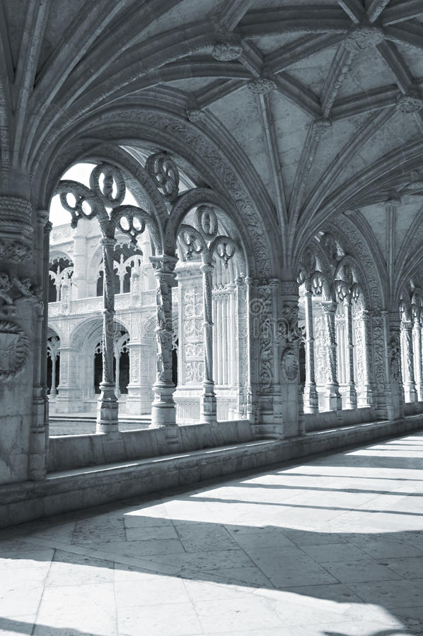 Mosteiro DOS Jeronimos arkivbild