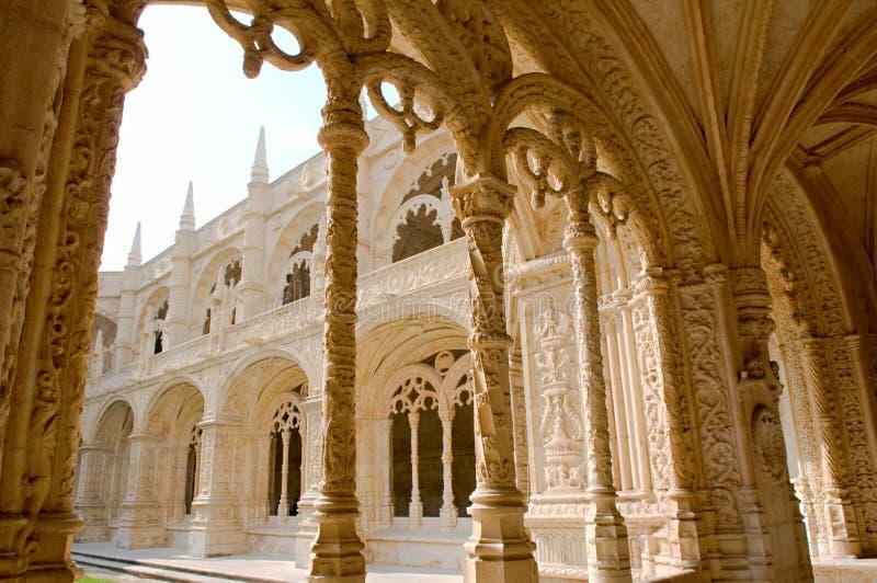 Mosteiro Dos Jeronimos zdjęcie royalty free