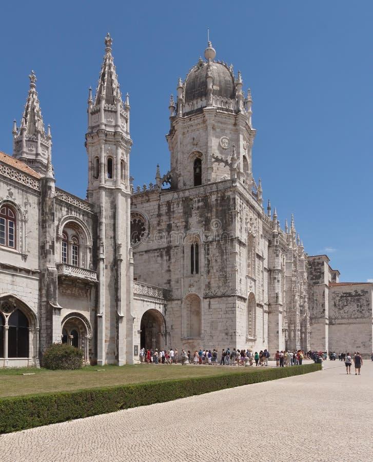 Download Mosteiro Dos Jeronimos, Old Monastery In Lisbon Stock Photo - Image: 25707292