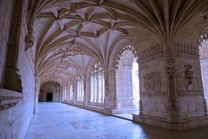 mosteiro jeronimos dos стоковая фотография