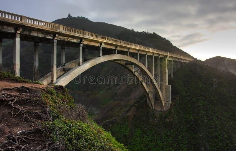 mostek do bixby obrazy stock