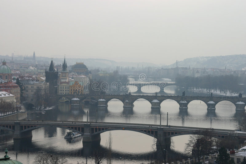 mostek jest Prague obraz stock