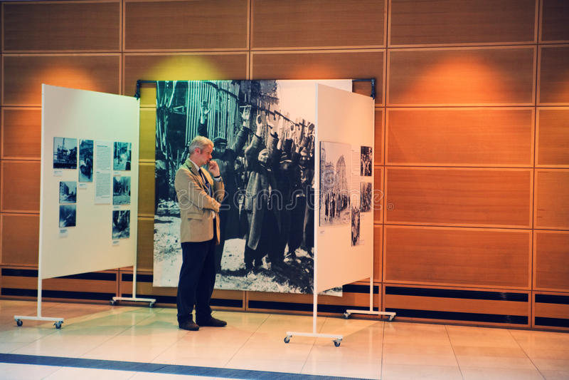 Mostra a Berlino fotografia stock libera da diritti