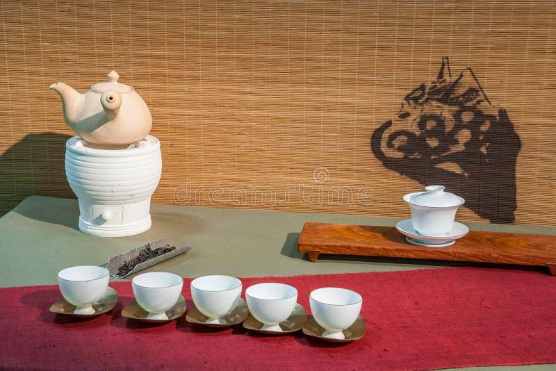 Mostra da expo do chá do chá de Chongqing fotos de stock