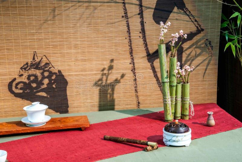 Mostra da expo do chá do chá de Chongqing fotografia de stock royalty free