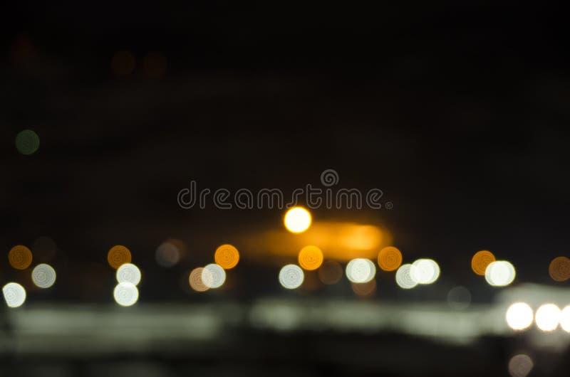 Mostra da noite imagem de stock