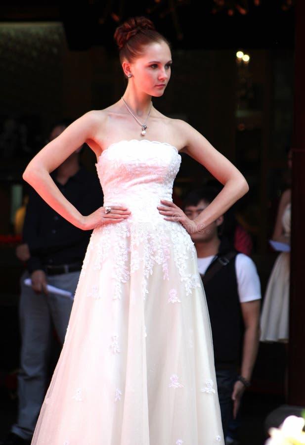 Mostra da pérola shanghai 2010 fotografia de stock royalty free