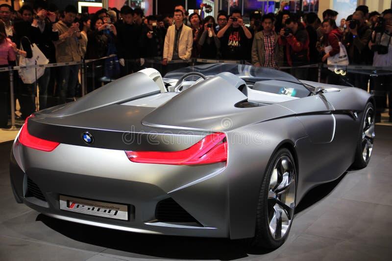 Mostra de carro shanghai foto de stock