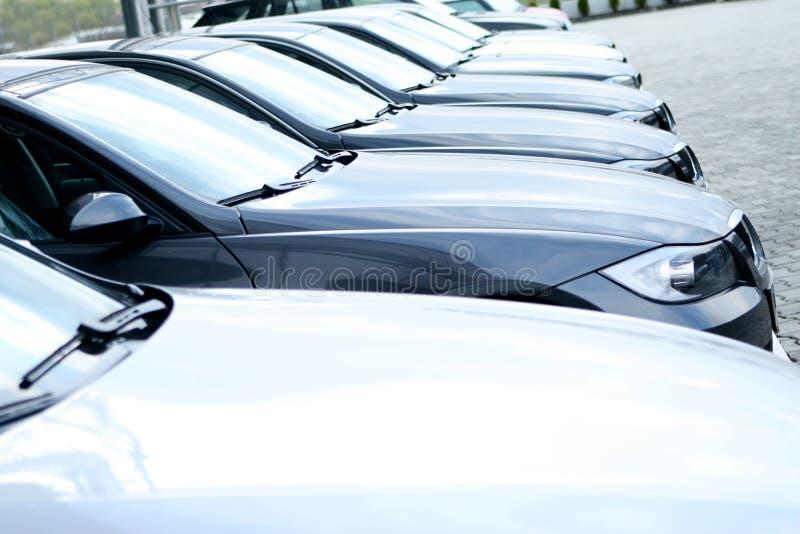 Mostra de carros imagens de stock