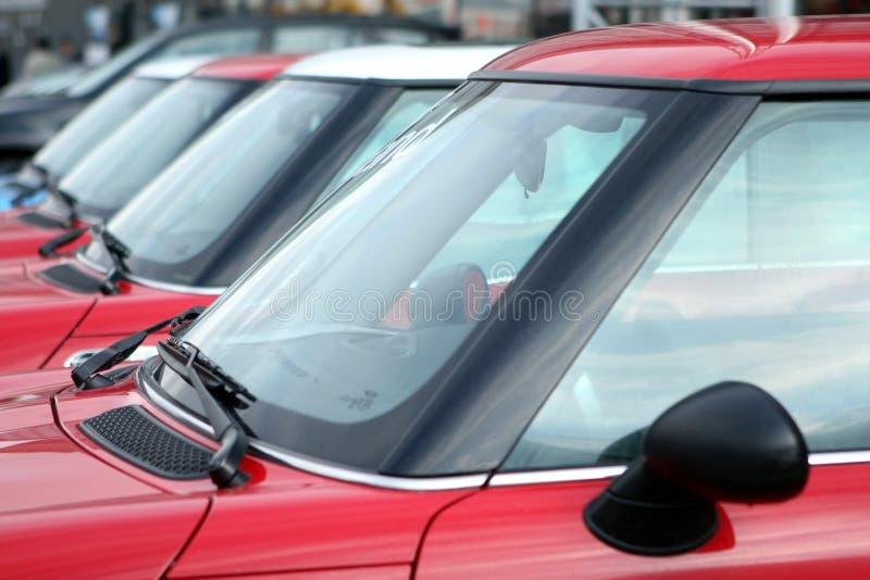 Mostra de carros foto de stock