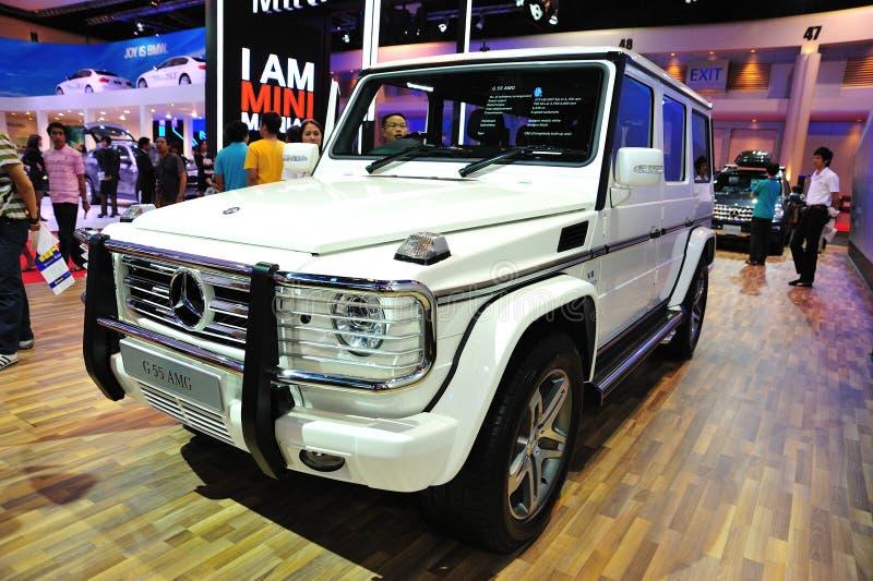 Mostra de motor internacional de Banguecoque foto de stock royalty free