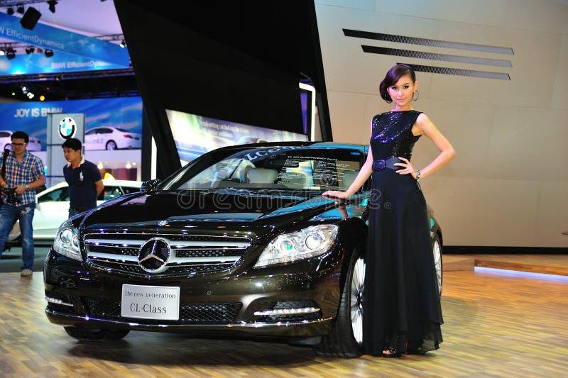 Mostra de motor internacional de Banguecoque fotos de stock royalty free