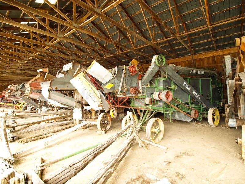 Mostra dei trattori antichi Manifestazione del trattore Mach di Agreecultural fotografie stock