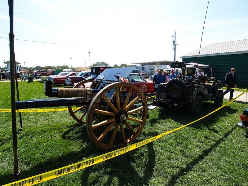 Mostra dei trattori antichi Manifestazione del trattore Mach di Agreecultural immagini stock