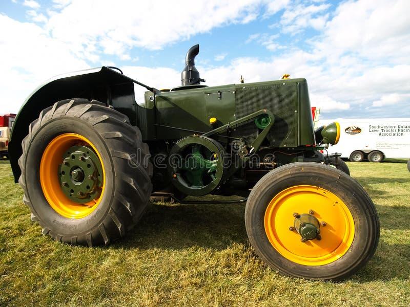 Mostra dei trattori antichi Manifestazione del trattore Mach di Agreecultural fotografia stock