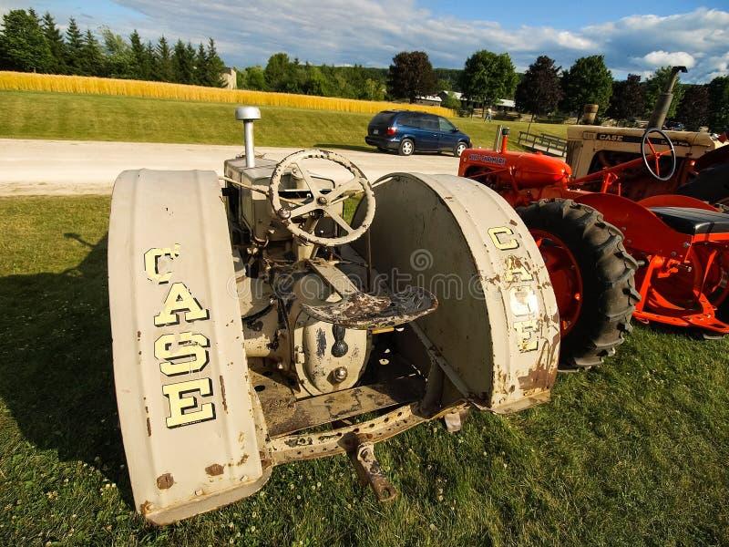 Mostra dei trattori antichi Manifestazione del trattore Mach di Agreecultural fotografie stock libere da diritti