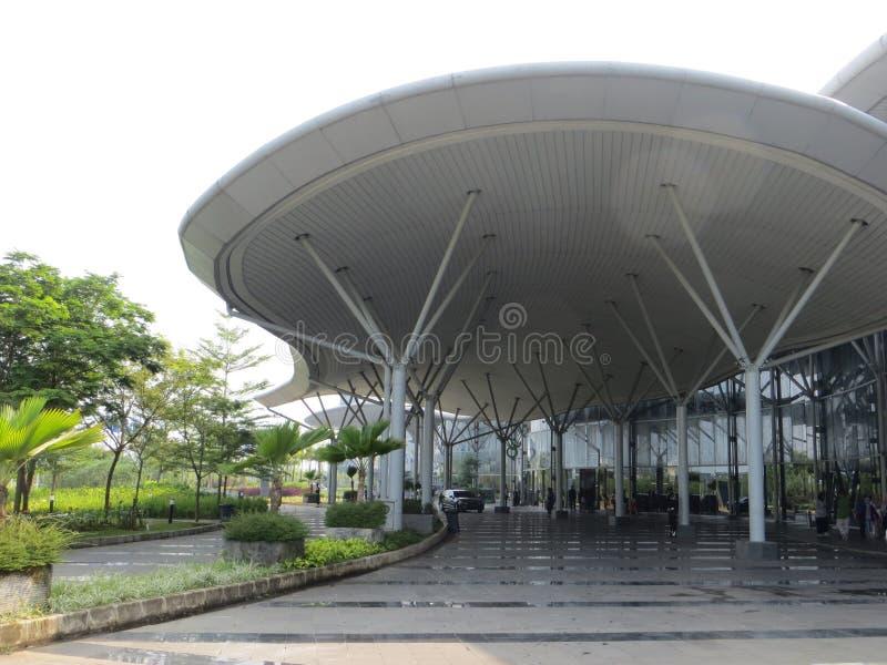 Mostra di convenzione dell'Indonesia in Tangerang immagine stock libera da diritti