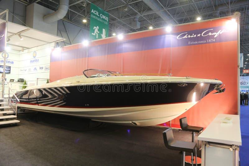 Mostra do barco do CNR Eurasia foto de stock