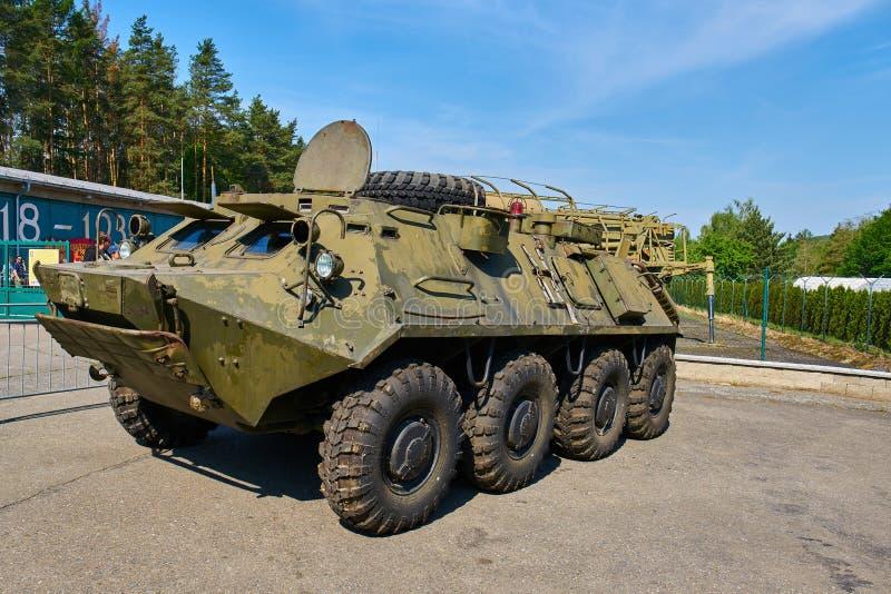 Mostra do dia aberto no museu militar em Lesany foto de stock royalty free