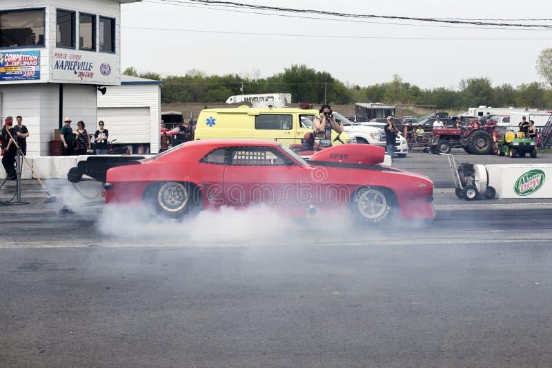 Mostra do fumo de Camaro imagens de stock royalty free