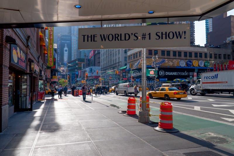 A mostra #1 do mundo - mamãe Mia em Broadway, New York City imagens de stock