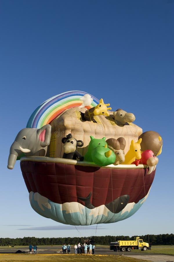 Mostra dos balões imagens de stock