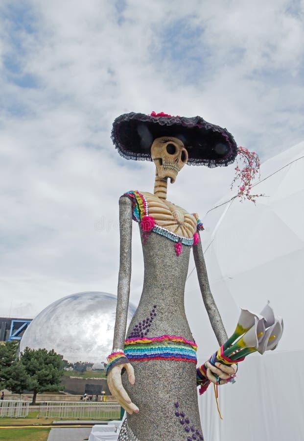 Download Mostra E Visita Virtuale Sul Messico Parigi, Il Parc De La Villette (Francia) Da 4 Al 22 Luglio 2015 Qui, Catrina Immagine Editoriale - Immagine di oaxaca, morte: 56884325