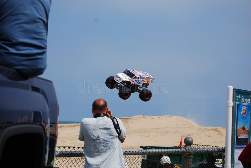 Mostra Virginia Beach do monster truck foto de stock royalty free