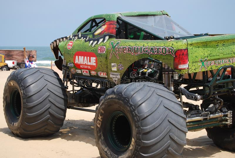 Mostra Virginia Beach do monster truck foto de stock