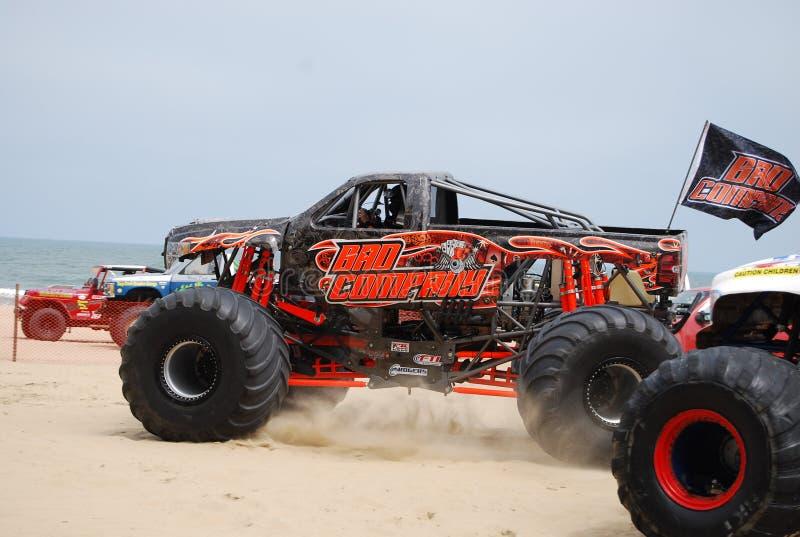 Mostra Virginia Beach do monster truck imagens de stock royalty free