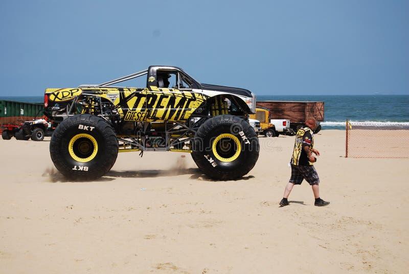 Mostra Virginia Beach do monster truck fotos de stock royalty free
