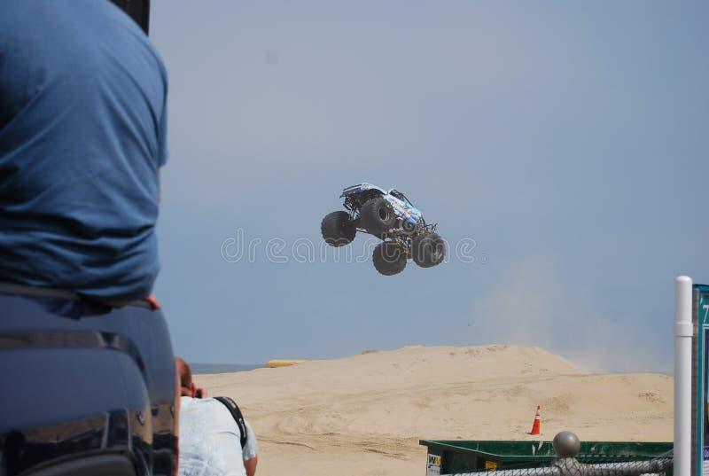 Mostra Virginia Beach do monster truck imagem de stock royalty free