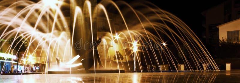 Mostras mediterrâneas da noite imagem de stock royalty free
