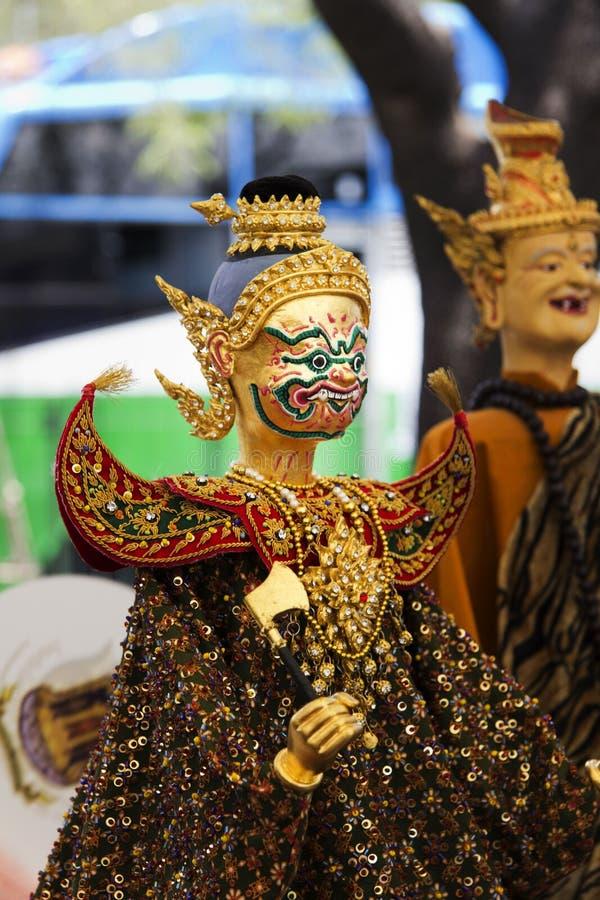 Mostre a heroína modelo do drama para o marionete (o fantoche) fotos de stock royalty free