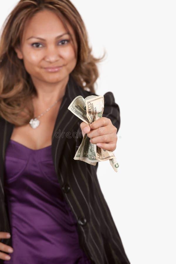 Mostre-me o dinheiro fotos de stock