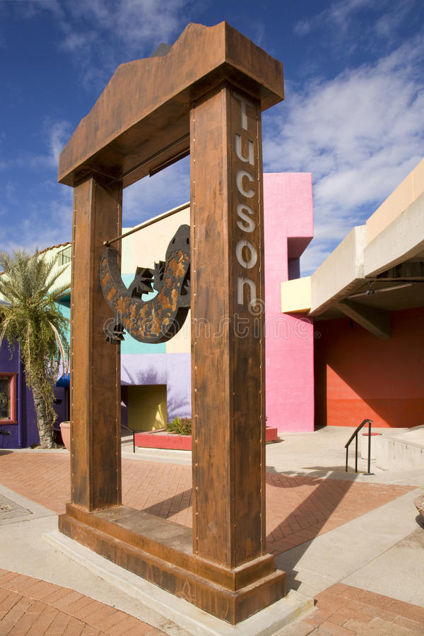 Mostro del Tucson Gila immagini stock