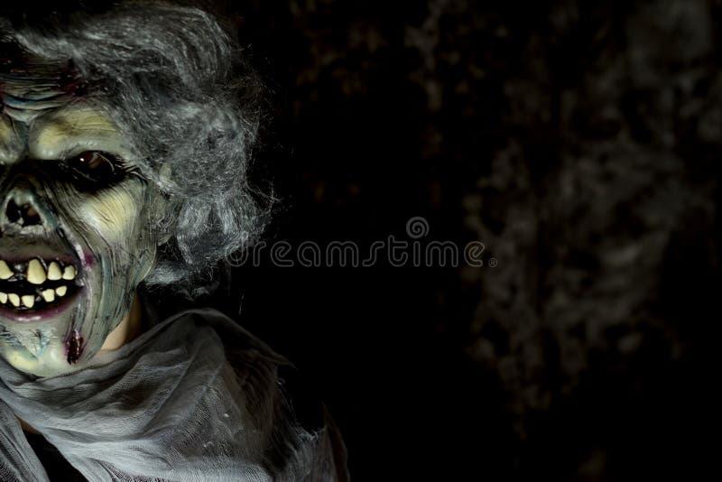 Mostro di Halloween undead immagini stock libere da diritti